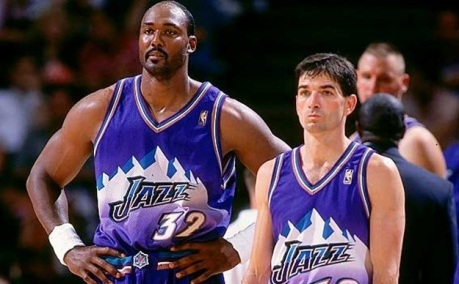 John Stockton y Karl Malone new