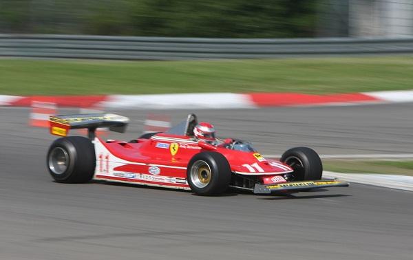 Ferrari 312T4. 1979. Jody Scheckter