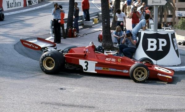 Ferrari 312B3. 1973. Jacky Ickx