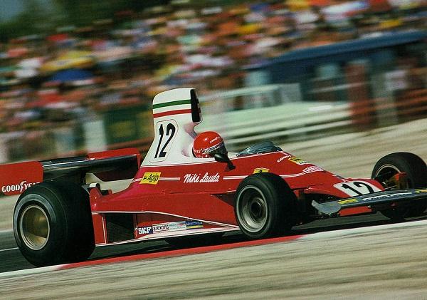 Ferrari 312T. 1975-1976. Niki Lauda