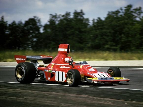 Ferrari 312B3. 1974. Clay Regazzoni