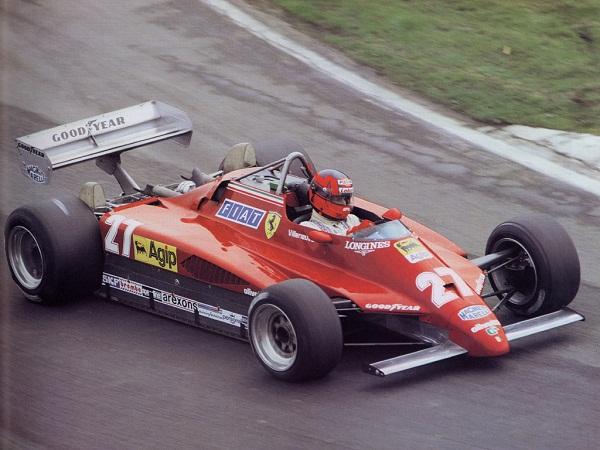 Ferrari 126C2. 1982. Gilles Villeneuve