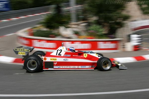 Ferrari 312T3. 1978. Gilles Villeneuve