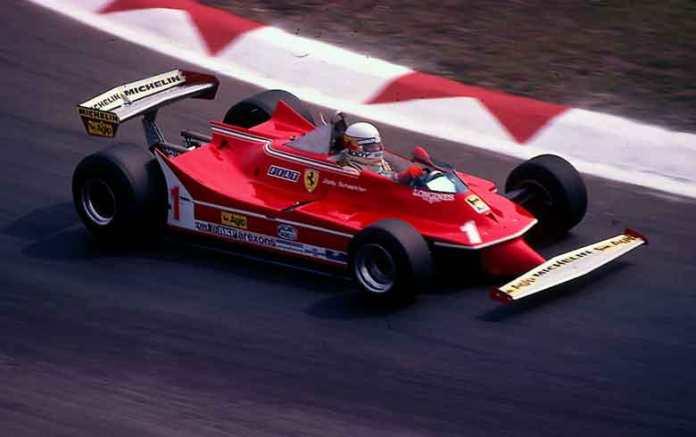Ferrari 312T5. 1980. Jody Scheckter