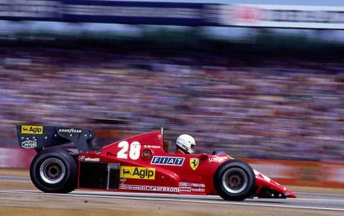 Ferrari 126C3. 1983. René Arnoux