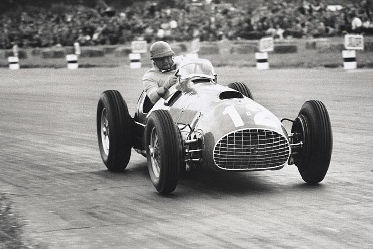 Ferrari 375. 1950-1953