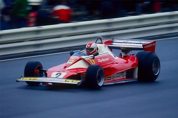 Ferrari 312T2. 1976-1977. Clay Regazzoni