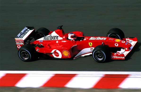 Ferrari F1-2002. Rubens Barrichello