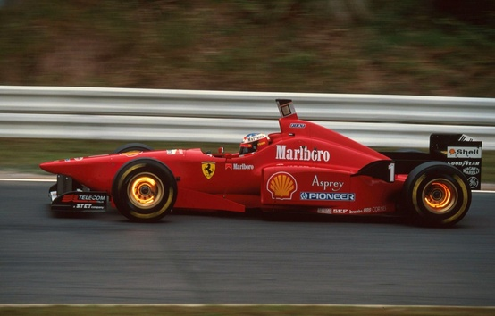 Ferrari F310. 1996-1997. Michael Schumacher