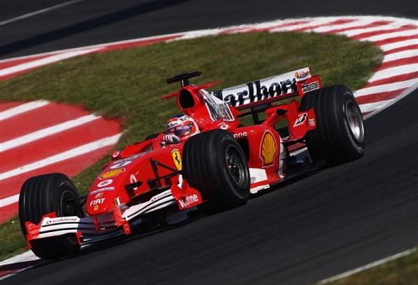 Ferrari F-2005. 2005. Michael Schumacher