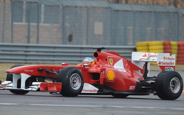 Ferrari 150º Italia. 2011. Fernando Alonso