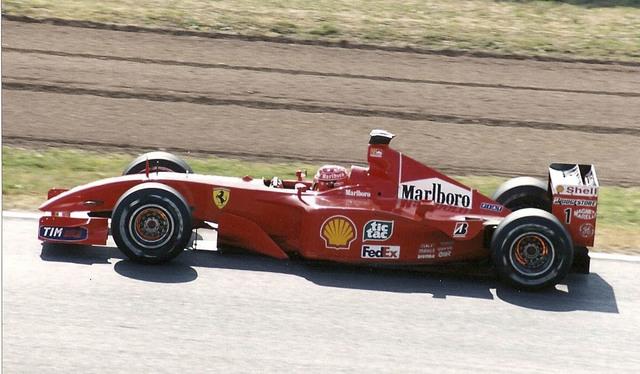 Ferrari F1-2001. 2001. Michael Schumacher