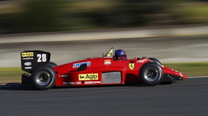 Ferrari 156/85. 1985. Stefan Johansson