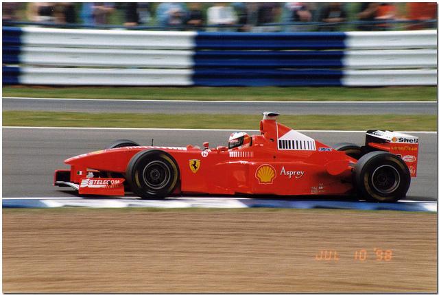 Ferrari F300. 1998. Michael Schumacher