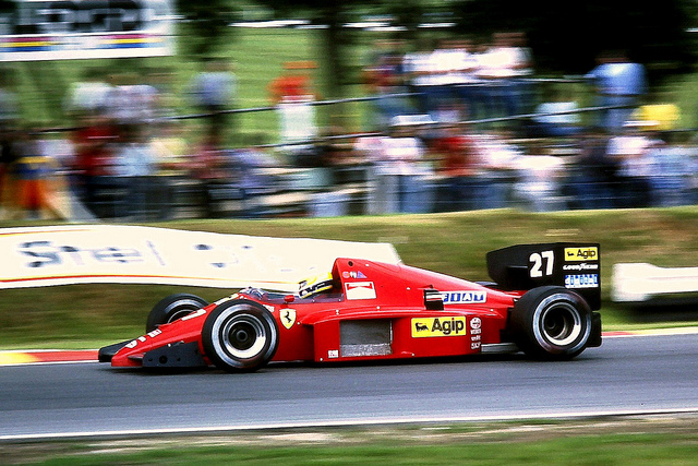 Ferrari F1/86. 1986. Michele Alboreto