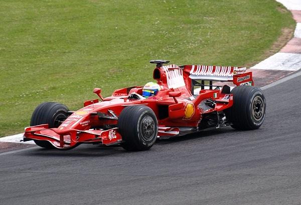 Ferrari F-2008. 2008. Felipe Massa