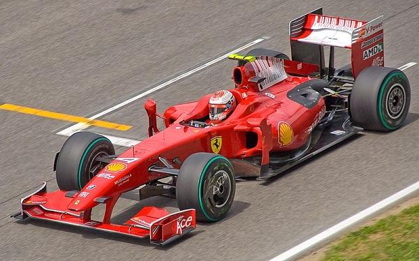 Ferrari F-60.2009. Kimi Raikkonen