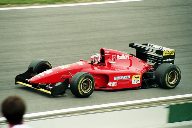 Ferrari 412T. 1994-1995. Gerhard Berger