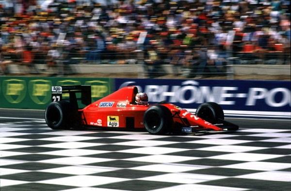 Ferrari 640.1989. Nigel Mansell