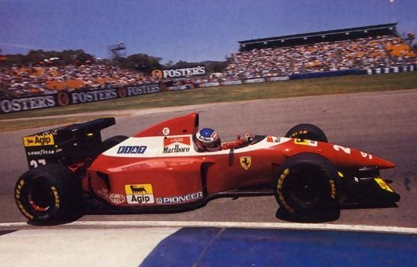 Ferrari F93A. 1993. Jean Alesi
