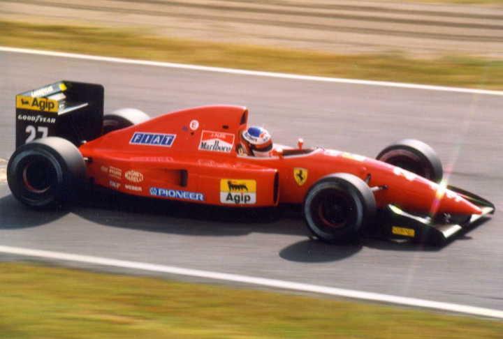 Ferrari F92A. 1992. Jean Alesi