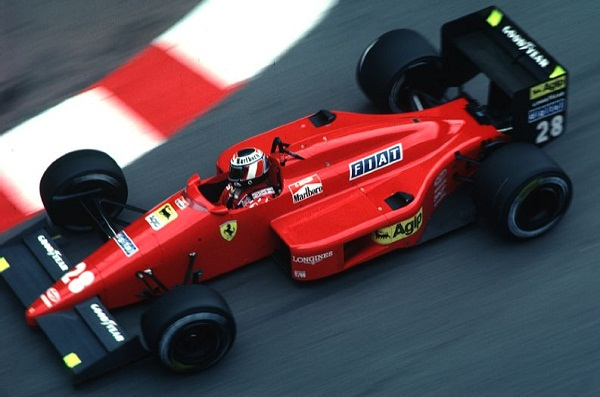 Ferrari F1/87. 1987. Gerhard Berger