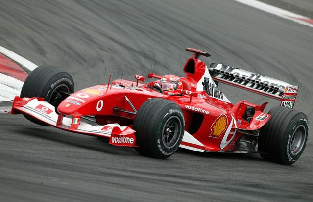 Ferrari F-2003. 2003. Michael Schumacher