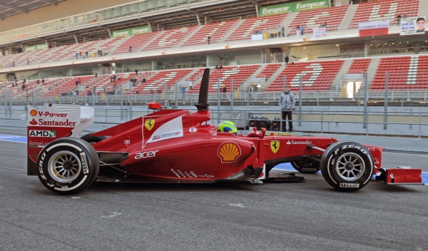 Ferrari F-2012. 2012. Felipe Massa