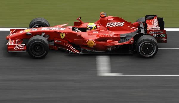 Ferrari F-2007. 2007. Felipe Massa
