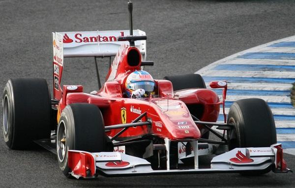 Ferrari F-10. 2010. Fernando Alonso