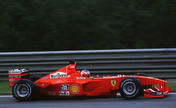 Ferrari F1-2000. 2000. Michael Schumacher