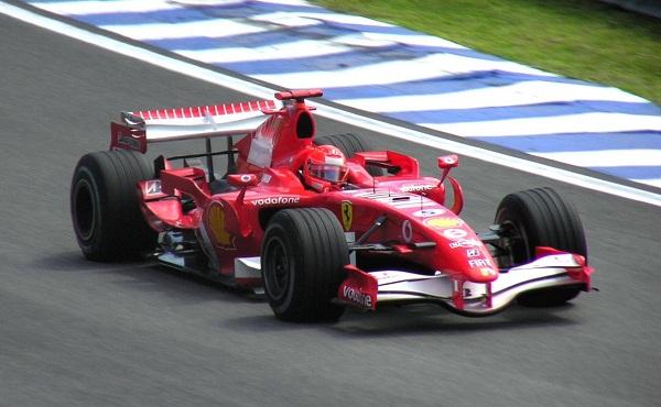 Ferrari 248 F1. 2006. Michael Schumacher