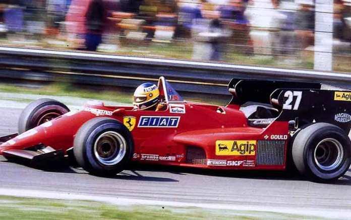 Ferrari 126C4. 1984. Michele Alboreto