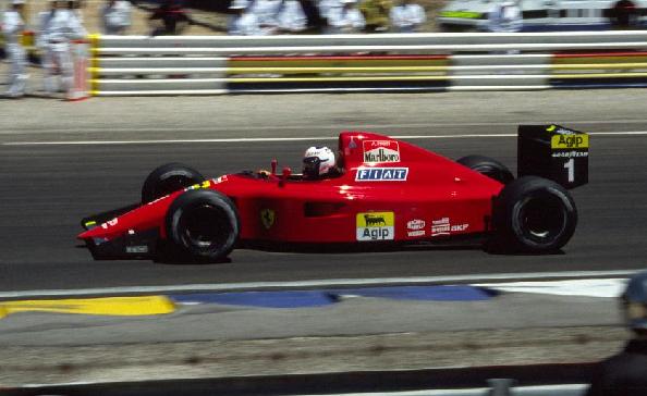 Ferrari 641. 1990. Alain Prost