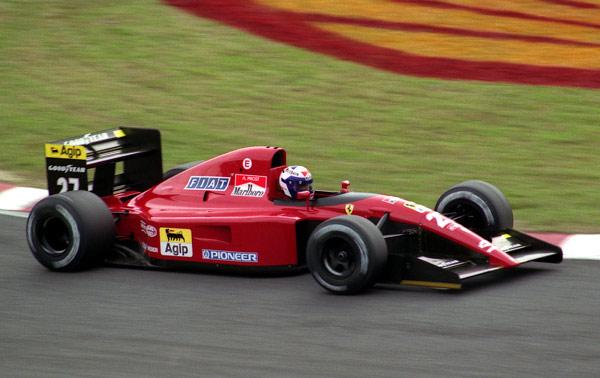 Ferrari 643. 1991. Alain Prost