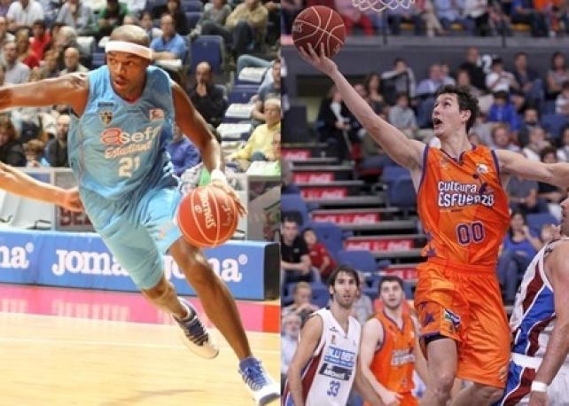 Montaje Asefa Estudiantes Y Valencia Basket