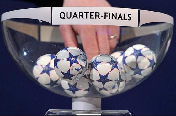 Sorteo de Cuartos de Final de la UEFA Champions League