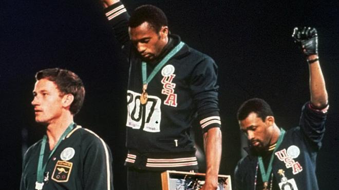 Black Power Salute Apology Athletics